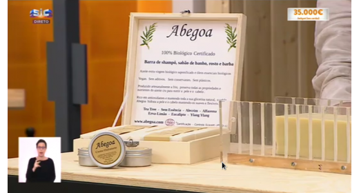 Abegoa Soap on national TV !