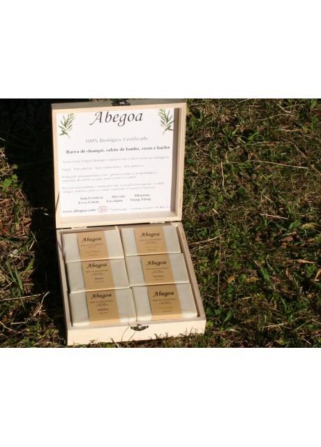 Box of six Abegoa Soaps